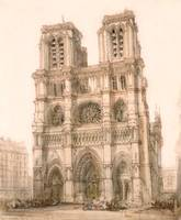Notre Dame, Paris by David Roberts