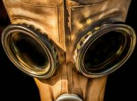 Old Leather Gas Mask