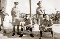 Soldiers 1942 Cora, Tripoli, Syria (now North Leba
