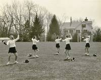 Fencing, 1929 Abbot Academy