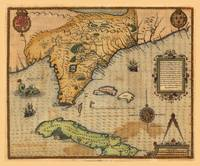 Map of Florida and part of Cuba (1591)