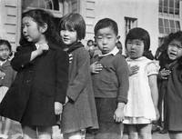Dorothea Lange - Many children of Japanese ancestr