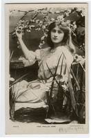 c1906 British Edwardian Theater Actress PHYLLIS DA