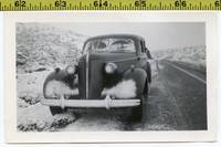 Vintage 1940's CAR & AUTO photo  Abandoned Automob