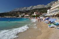 Amazing beach of Podgora