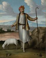 Albanian Herdsman, workshop of Jean Baptiste Vanmo