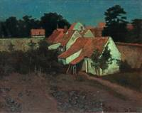 Clair De Lune Or Moonlight  by Frits Thaulow