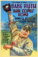 Babe Comes Home, Babe Ruth Vintage Movie Poster