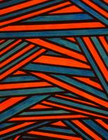 Abstract Lines Neon Digital Artwork