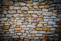 Stone wall background with HDR effect