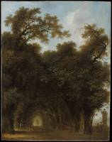 A Shaded Avenue, Jean Honoré Fragonard