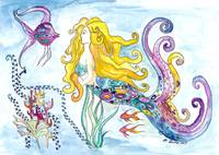 The Blonde Mermaid