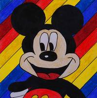 Mickey Mouse Drawing
