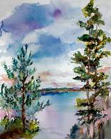 Lake Oswego Oregon Watercolors