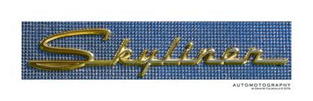 1958 Ford Fairline 500 Skyliner Emblem