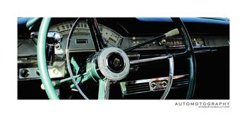 195 Ford Fairlane 500 Skyliner Cockpit