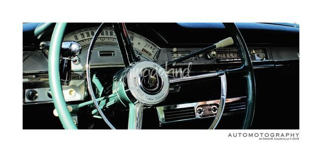 195 Ford Fairlane 500 Skyliner Cockpit