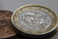 Macro photo photography of euro coins