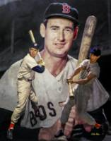 Ted Williams Boston Red Sox MLB Baseball Stadium A