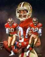 San Francisco 49ers z Jerry Rice 2510 ART AIP AM3