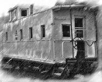 The Caboose by Kirt Tisdale