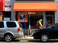 Hackensack, NJ - Orange Storefront
