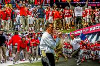 Ohio State Buckeyes Urban Meyer 2500 ART WC-24x36