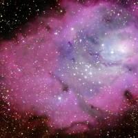 Lagoon Nebula by Andrew McCarthy