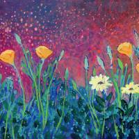 Poppies at Twilight Art Prints & Posters by Jennifer Lommers