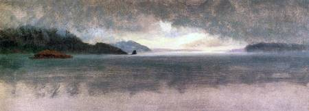 Pacific Northwest by Bierstadt