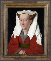 Eyk, Jan van - Portrait of Margareta van Eyck