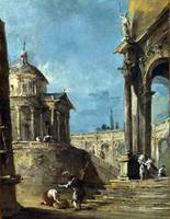 GUARDI, Francesco - An Architectural Caprice (1)