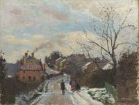 Camille Pissarro - Fox Hill, Upper Norwood