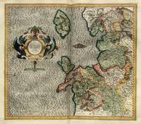 1595 England, Isle of Man map by Mercator