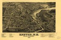 Map--New Hampshire--Exeter.1884