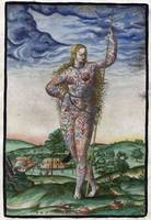 De Bry Young Pictish Woman
