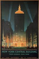 New York Central Building, Park Ave, NY Poster