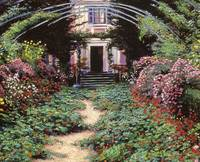 CLAUDE MONET'S GARDEN PATH