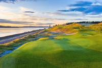Chambers Bay Golf Course, Hole #17, 2019-2