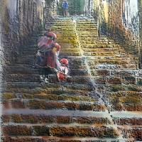 chincherromamandchild Art Prints & Posters by Dennis Gordon