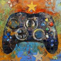 Game Controller Art Prints & Posters by Michael Creese