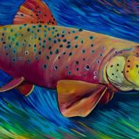 Brown Trout Art Prints & Posters by Allison McGree