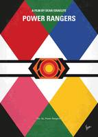 No1077 My Power Rangers minimal movie poster