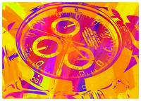 Abstract Rolex Paint 17