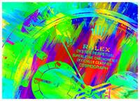 Abstract Rolex Paint 15