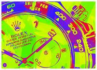 Abstract Rolex Paint 8