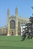 King's College Chapel, Cambridge, England by Priscilla Turner