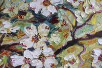 Dogwood Blossoms Oil Painting