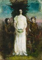 Abbott Handerson Thayer~My Children (Mary, Gerald,