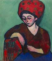 Alexei Jawlensky~Helene with Colored Turban